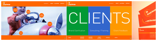 Brand Consulting Website